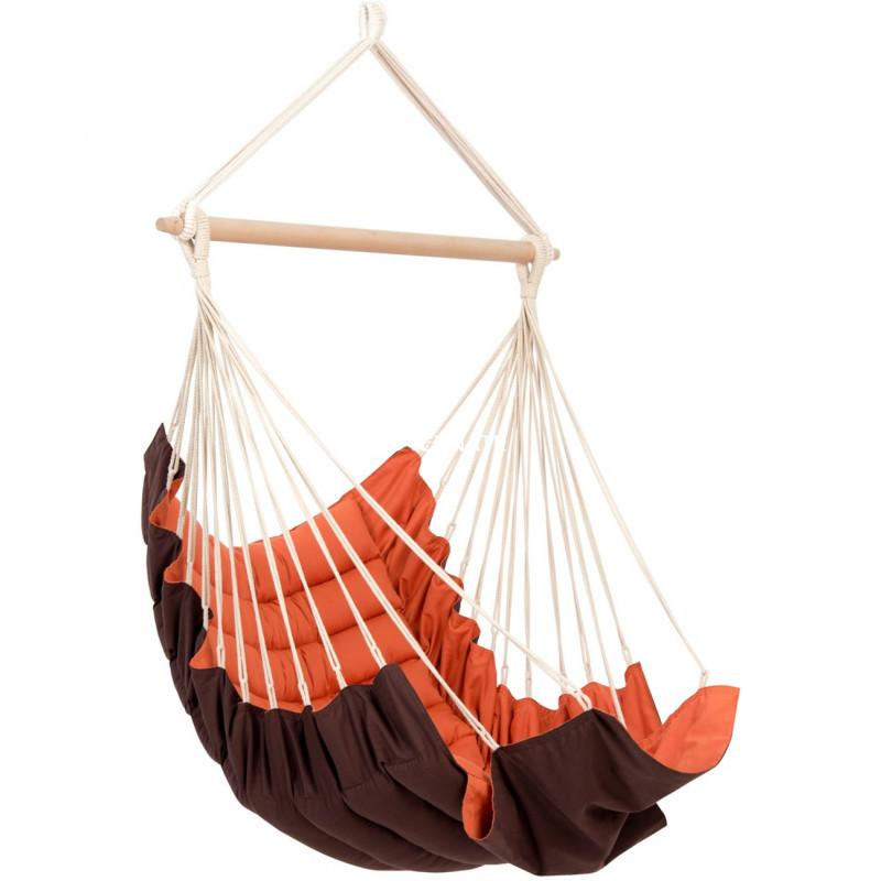 Amazonas California Terracotta Sofa, 170x70x110cm, max. 150kg Amazonas Hanging Chair California terracotta
