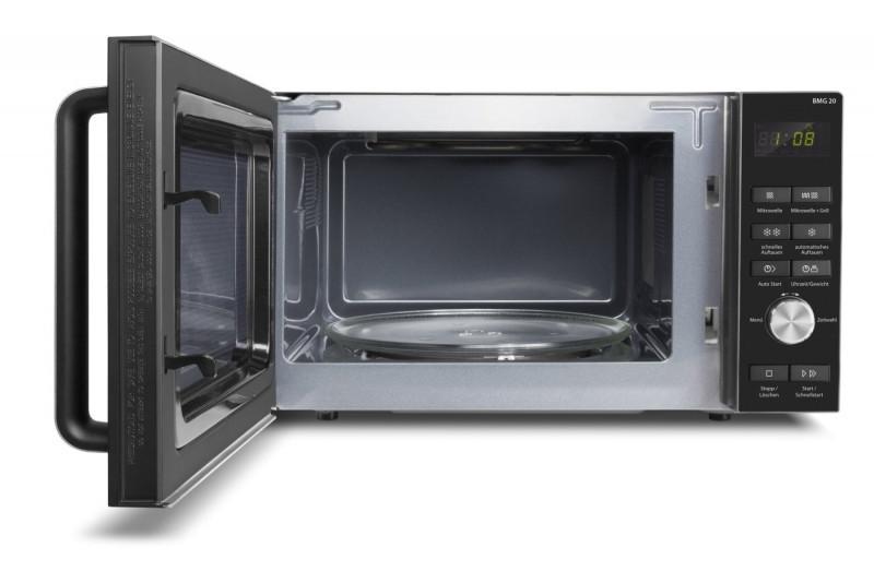 Caso Microwave - Grill BMG 20 Free standing, 20 L, Grill, Semi-digital, 800 W, Black, Defrost