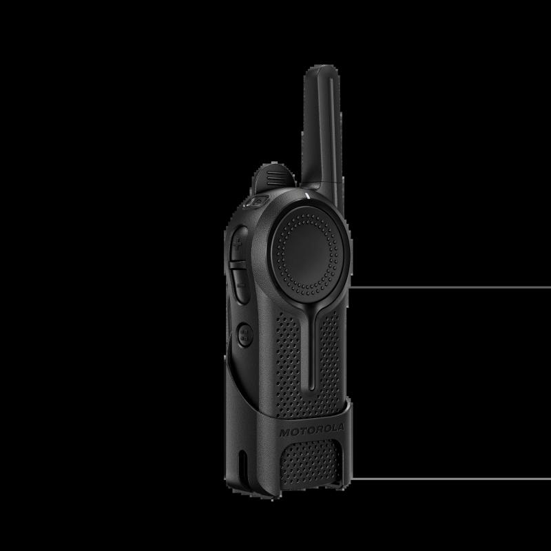 """""""Motorola CLR446"""", 16 kanalų trumpųjų bangų, PRM466, juoda, IP 52"""