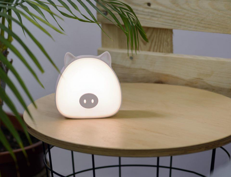Activejet AJE-PIGI stalinė lempa Nekeičiama (-os) lemputė (-os) 2 W LED Rožinė